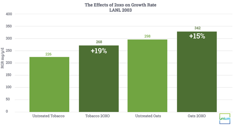 The Effects of 2oxo on Growth Rate