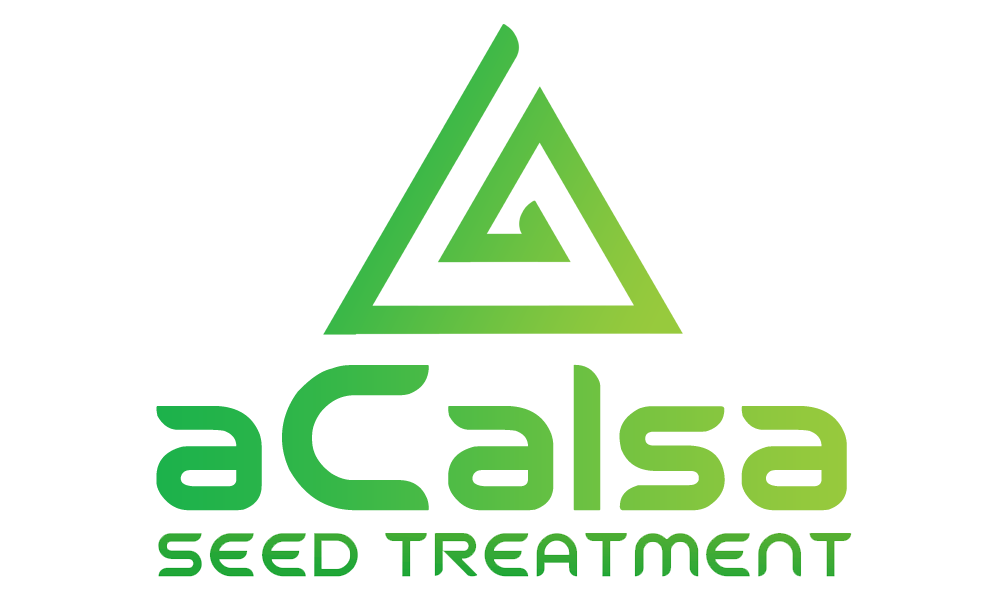 aCalsa Seed Treament nutrient, biostimulant, powdered seed treatment